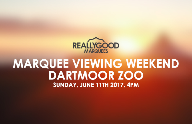 Marquee Viewing Weekend 2017