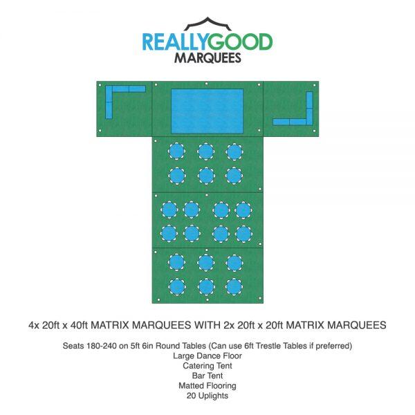 Matrix & Hex Marquee Floorplan Example